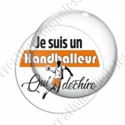 Image digitale - Je suis un handballeur qui déchire