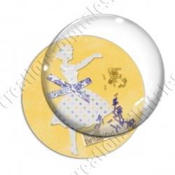 Image digitale - Elegance jaune 01