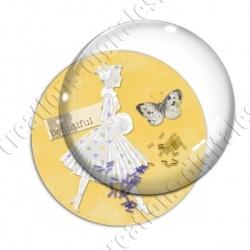 Image digitale - Elegance jaune 02