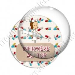 Image digitale - Infirmière au top