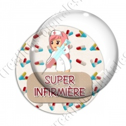 Image digitale - Super infirmière