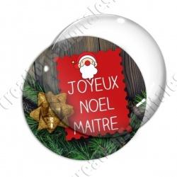 Image digitale - Joyeux Noël Maitre Sapin 01