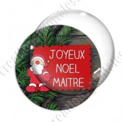 Image digitale - Joyeux Noël Maitresse Sapin 02