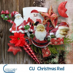 CU Christmas Red