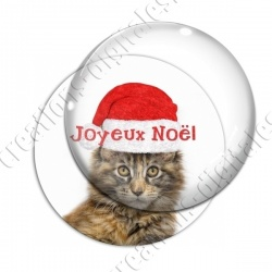 Image digitale - Joyeux Noël  - Chat 01