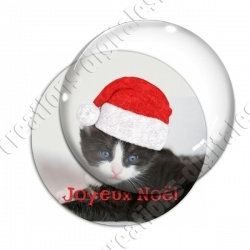 Image digitale - Joyeux Noël  - Chat 02