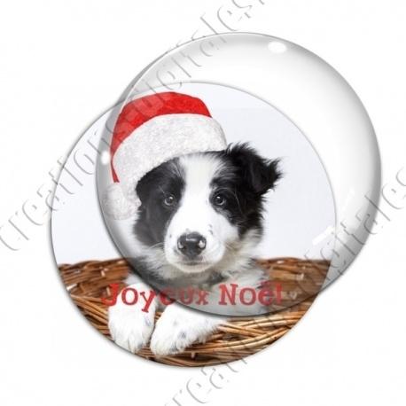 Image digitale - Joyeux Noël  - Chien 03
