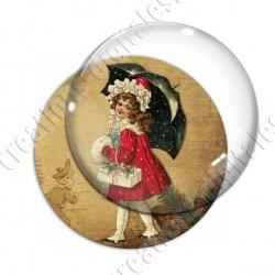 Image digitale - Vintage enfant - Noël 04