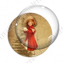 Image digitale - Vintage enfant - Noël 10