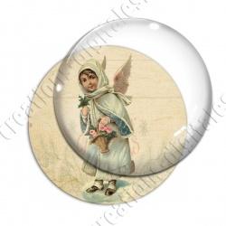 Image digitale - Vintage enfant - Noël 11