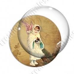Image digitale - Vintage enfant - Noël 12
