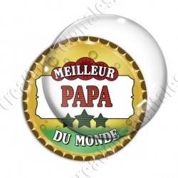 Image digitale - Meilleur papa du monde - capsule