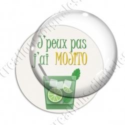 Image digitale - Live love Mojito - Fond blanc