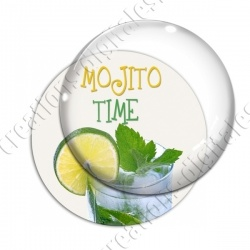 Image digitale - Mojito Time - Fond blanc