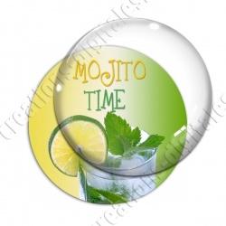 Image digitale - Mojito Time - Fond dégradé