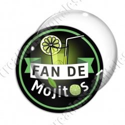 Image digitale - Fan Mojitos - Fond noir