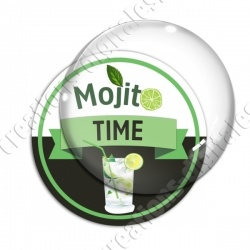 Image digitale - Mojito Time - Fond noir