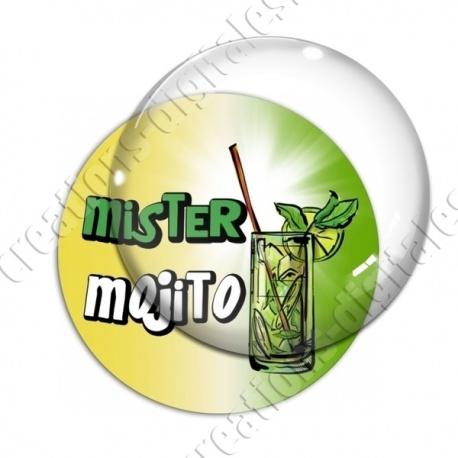 Image digitale - Mister Mojito - Fond dégradé
