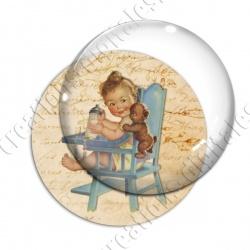 Image digitale - Vintage enfant 01