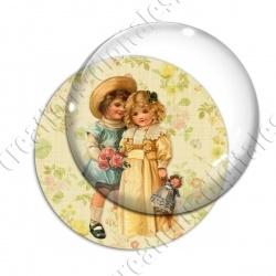 Image digitale - Vintage enfant 07
