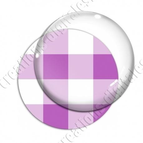 Image digitale - Vichy violet large
