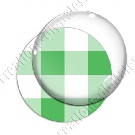 Image digitale - Vichy vert large