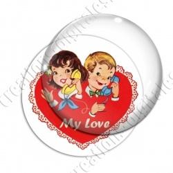 Image digitale - Saint Valentin - Vintage 05