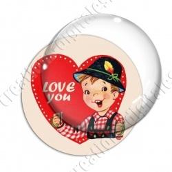 Image digitale - Saint Valentin - Vintage 07
