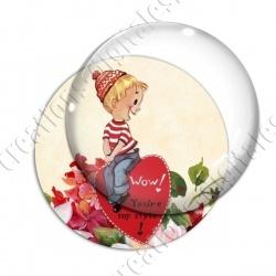 Image digitale - Saint Valentin - Vintage 09