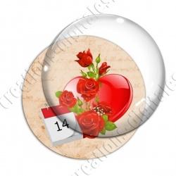 Image digitale - Saint Valentin - Vintage 19
