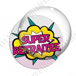 Image digitale - Super retraitée - Comics 01