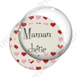 Image digitale - Maman chérie et coeur
