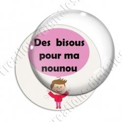 Image digitale - Nounou - Bisous ballon