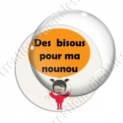 Image digitale - Nounou - Bisous ballon 02