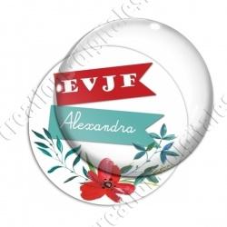 Image digitale - Personnalisable - EVJF coquelicot