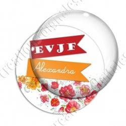 Image digitale - Personnalisable - EVJF fleurs