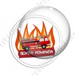 Image digitale - Super pompier - Camion