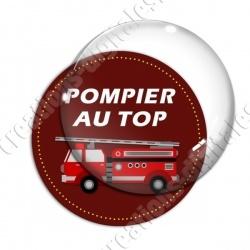 Image digitale - Pompier au top - Camion