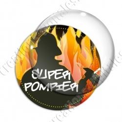 Image digitale - Super pompier - silhouette