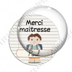 Image digitale - Personnalisable - Merci maîtresse 02
