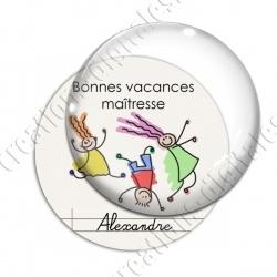 Image digitale - Personnalisable - Bonnes vacances 02