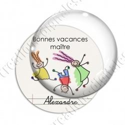 Image digitale - Personnalisable - Bonnes vacances 03