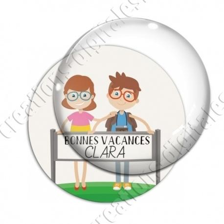 Image digitale - Personnalisable - Bonnes vacances 05