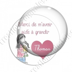 Image digitale - Personnalisable - Merci 01