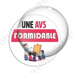 Image digitale - Une AVS formidable - Rose