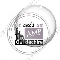 Image digitale - AMP qui déchire - Gris
