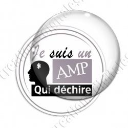 Image digitale - AMP qui déchire 2 - Gris