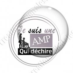 Image digitale - AMP qui déchire 4 - Gris