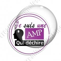Image digitale - AMP qui déchire 2 - Violet