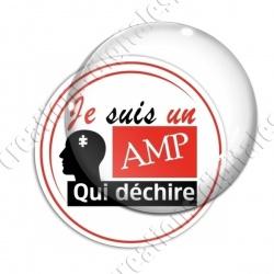 Image digitale - AMP qui déchire - Rouge